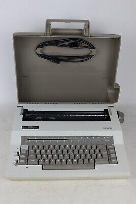 Smith Corona Xe 5000 Electric Portable Typewriter W Cover - Testedworking