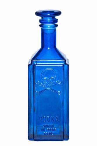 *RARE* Collectible POISON BOTTLE Cobalt Blue Glass