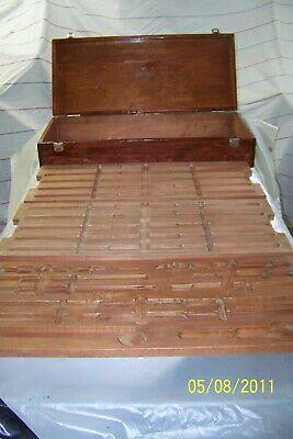 Starrett 128 Series Inside Micrometer Case