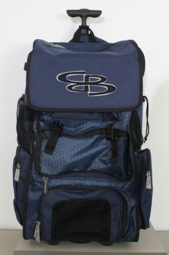 Boombah Baseball Softball Rolling Superpack 2.0 Navy NEW