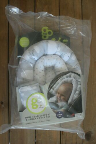 Go By Goldbug - Duo Head Support And Strap Cover Set For Baby