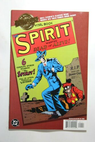 MILLENNIUM EDITION: THE SPIRIT #1 - WANTED DEAD OR ALIVE- 2000 DC COMICS REPRINT