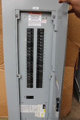 Ge Electric Main Breaker Electrical Load Panel Box 3 Phase 150 Amp Main