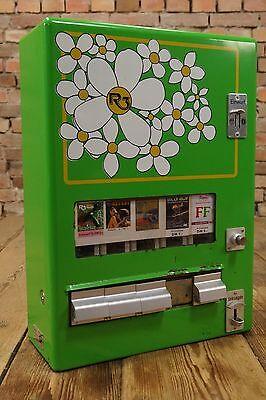 Vintage Kondomautomat 70er Automat Warenautomat Zigarettenautomat Kaugummiautom