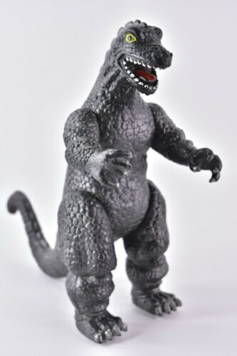 "Godzilla  Kaiju- Knock Off Vintage 1980'S  Godzilla 9""  Vintage Made In China"
