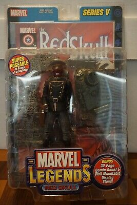 Marvel Legends Red Skull Series 5 Variant New in Package NIP Toybiz