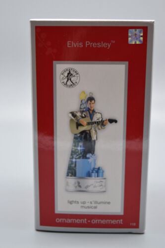 "American Greetings Heirloom Ornament Collection ""Elvis Presley""  -NOS #118"