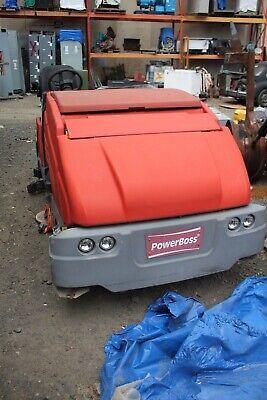 Powerboss  Industrial Sweeper 5550gas Street Sweeper Gas