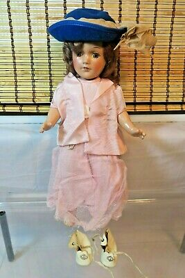 "Arranbee R&B 13"" Composition Doll in Pink Dress"