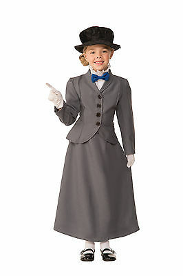 English Nanny - Mary Poppins - Child Costume (Mary Poppins Kids Costume)