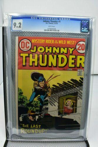 JOHNNY THUNDER #1 CGC 9.2 DC COMICS!!!