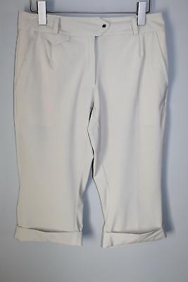Nike Golf Crop Pants DRI-FIT UV Tan Beige Women's Size 6 HW4304