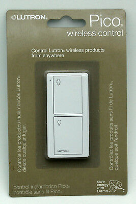 NEW Lutron Pico Wireless Control Remote Maestro PJ2-2B-GWH-L01 White