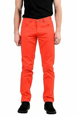 Versace Jeans Men's Stretch Red Skinny Jeans Size 32 33 34 36