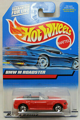 Hot Wheels 1:64 Scale 2000 Series BMW M ROADSTER (RED)