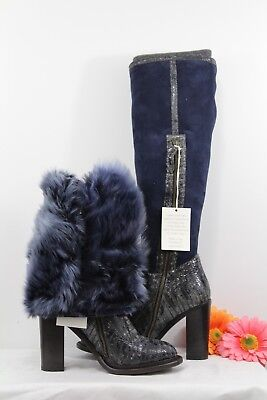 NIB UGG COLLECTIONWomens AldabellaShearlingBoots Shoes Italy Sale Sz 7.5 ()