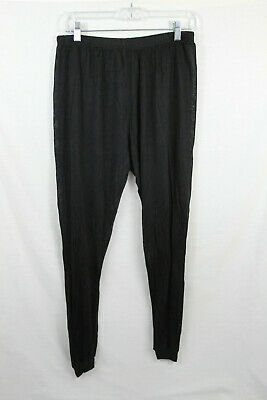 "Terramar Sportsilks Sheer Silk Base Layer Pants Size Large 36/"" 38/"" Waist"