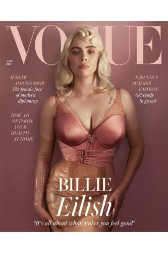 BRITISH VOGUE-UK-MAG -JUNE 2021- FABULOUS SUMMER FASHION-BILLIE EILISH-BRAND NEW