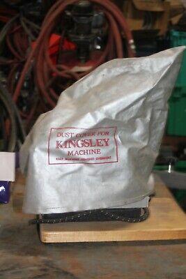 Vintage Kingsley Machine Co. Stamping Machine Kte-6