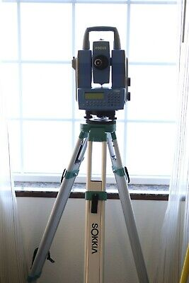 Spectra Focus 10 Robotic Total Station Wtsc2 Controller And Bundle Package