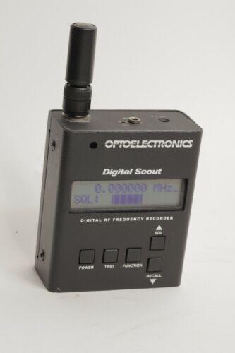 Optoelectronics Digital Scout Frequency Recorder / Field Strength Meter new batt