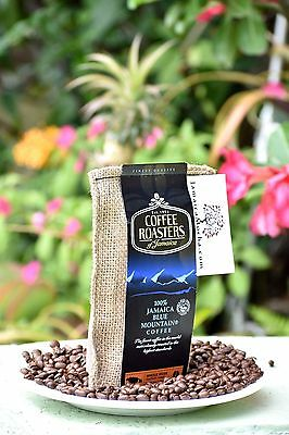 100% Jamaican Blue Mountain 8oz x 3 bags COFFEE ROASTERS JAMAICA Peaberries