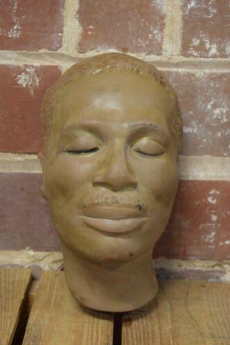 Vintage Death Mask MLK Look Alike Professional TNG Dallas Texas Funeral Mortuary