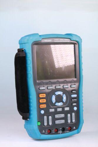 Siglent Technologies SHS820 Handheld Oscilloscope, 200MHz, 2-Channel, Multimeter