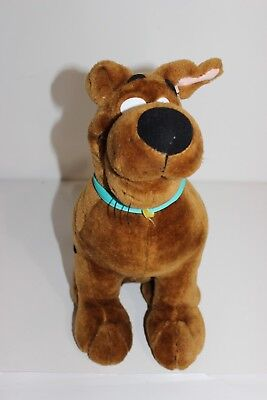 "Cartoon 14"" Cute Scooby Doo Plush Stuffed Dog Animal Pet Easter Basket Fun toy"