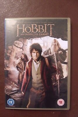 The Hobbit - An Unexpected Journey (DVD, 2013) Used