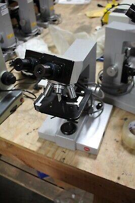 Leitz Wetzlar Sm-lux Laboratory Microscope Working Loaded