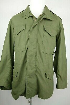 Vintage Alpha Industries M-65 US Military Field Jacket Men Size Medium  tweedehands  verschepen naar Netherlands
