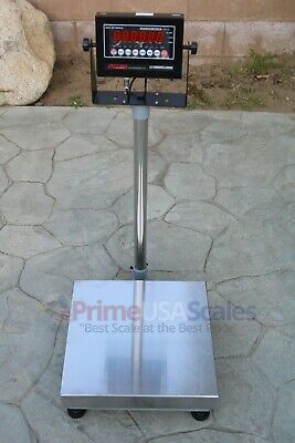 Op-915 Bench Scale 60 Lb X .002 Lb Digital 16x 16 Shipping Scale 30kg X 1g