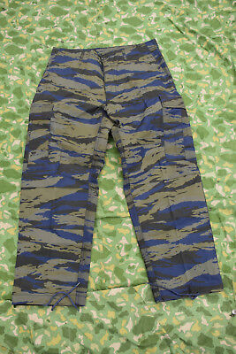 Hellenic / Greek Air Force SF Issue TIGER STRIPE Combat Trousers (Large)