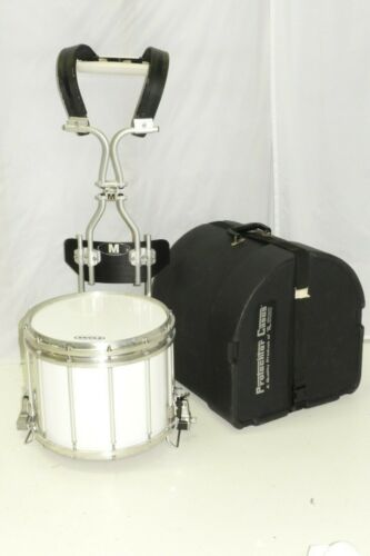 """Pearl Championship Maple 14"""" FFX  Marching Band Snare Drum + Harness Case"""