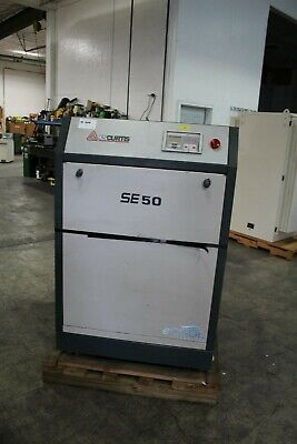 Fs Curtis Se50 Air Compressor 222cfm 50hp 200v 60hz