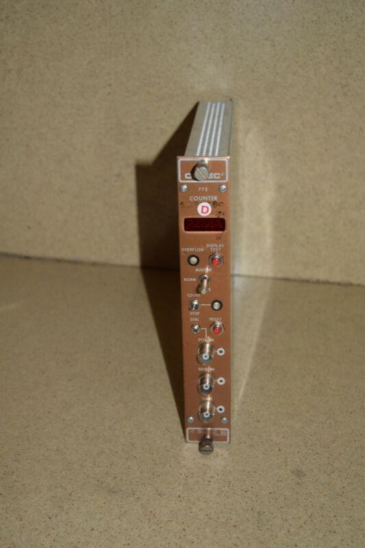 ^^ ORTEC 772 COUNTER NIM BIN PLUG IN (TP550)