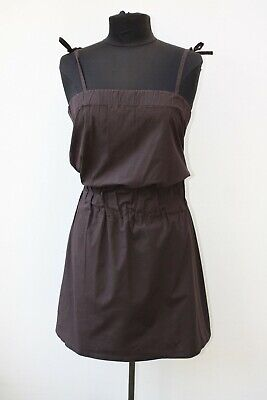 Burberry Brown Strappy Dress Size UK 10