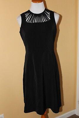 Nwt Giuliana Rancic Black Sleeveless Dress Size S