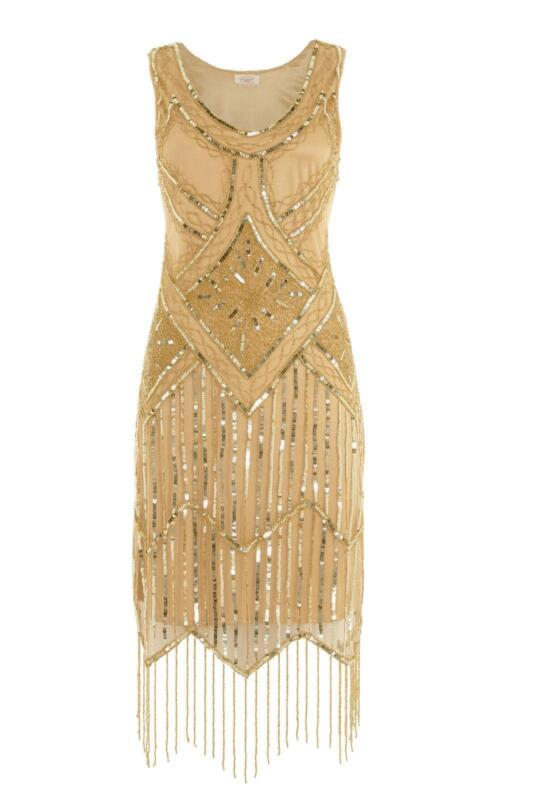 Beaded Flapper Dress | eBay