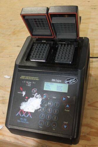 MJ Research PTC-200 Pelteir Thermal Cycler DNA Engine WORKING
