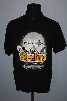 Pittsburgh Steelers Store (NFL Store Pittsburgh Steelers Black Script Stadium Tee Shirt)