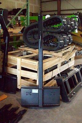 Skid Steer Tree Boom Carrier For Mini Loaders 3000 Lb Capacityfits Toro