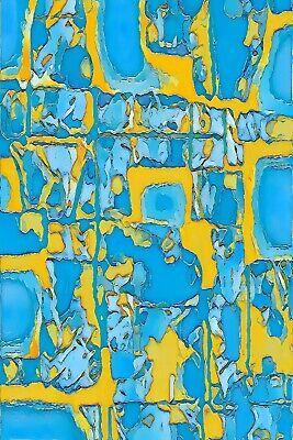 Hand Print Art (Giclee Art Print Limited Edition