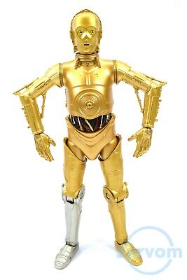 "Star Wars Authentic Black 6"" 40th Anniversary C-3PO See-Threepio Loose Complete"