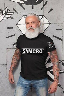 SAMCRO T shirt Sons of Anarchy Birthday Gift Harley Davidson Chopper Biker Gang