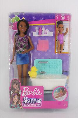 Barbie Skipper AA Negra Babysitters INC / con bañera - Nueva -...