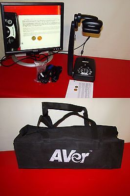 Avermedia Avervision 280 P0a3 Document Camera W Cables Night View W Bag