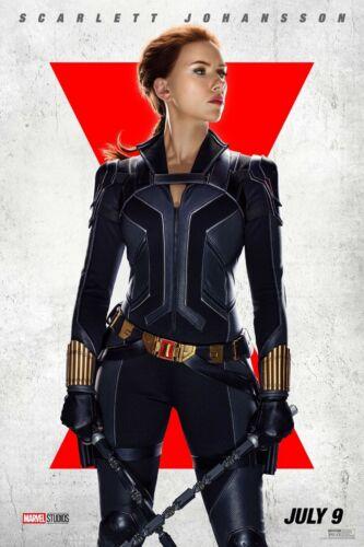 Black Widow movie poster (f)  - 11 x 17 -  Scarlett Johansson