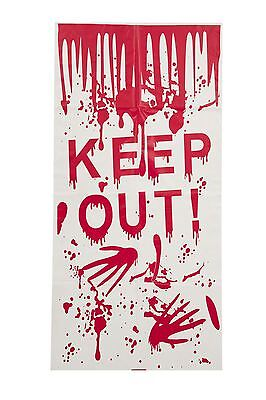 Halloween-Tür-Abdeckung 'Keep Out', Halloween-Party-Prop/Raumdekoration #DE ()